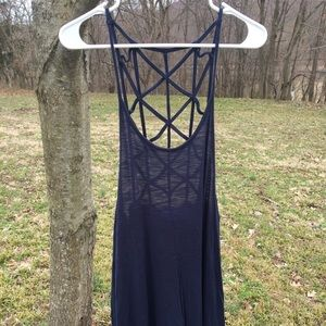 Other - Navy Coverup size Small